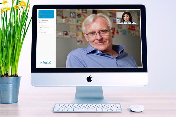NousTalk Online Therapy Platform